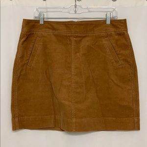 LOFT corduroy skirt with pockets!